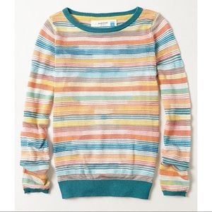 Anthropologie Sparrow Sheerstripe Sweater Size S